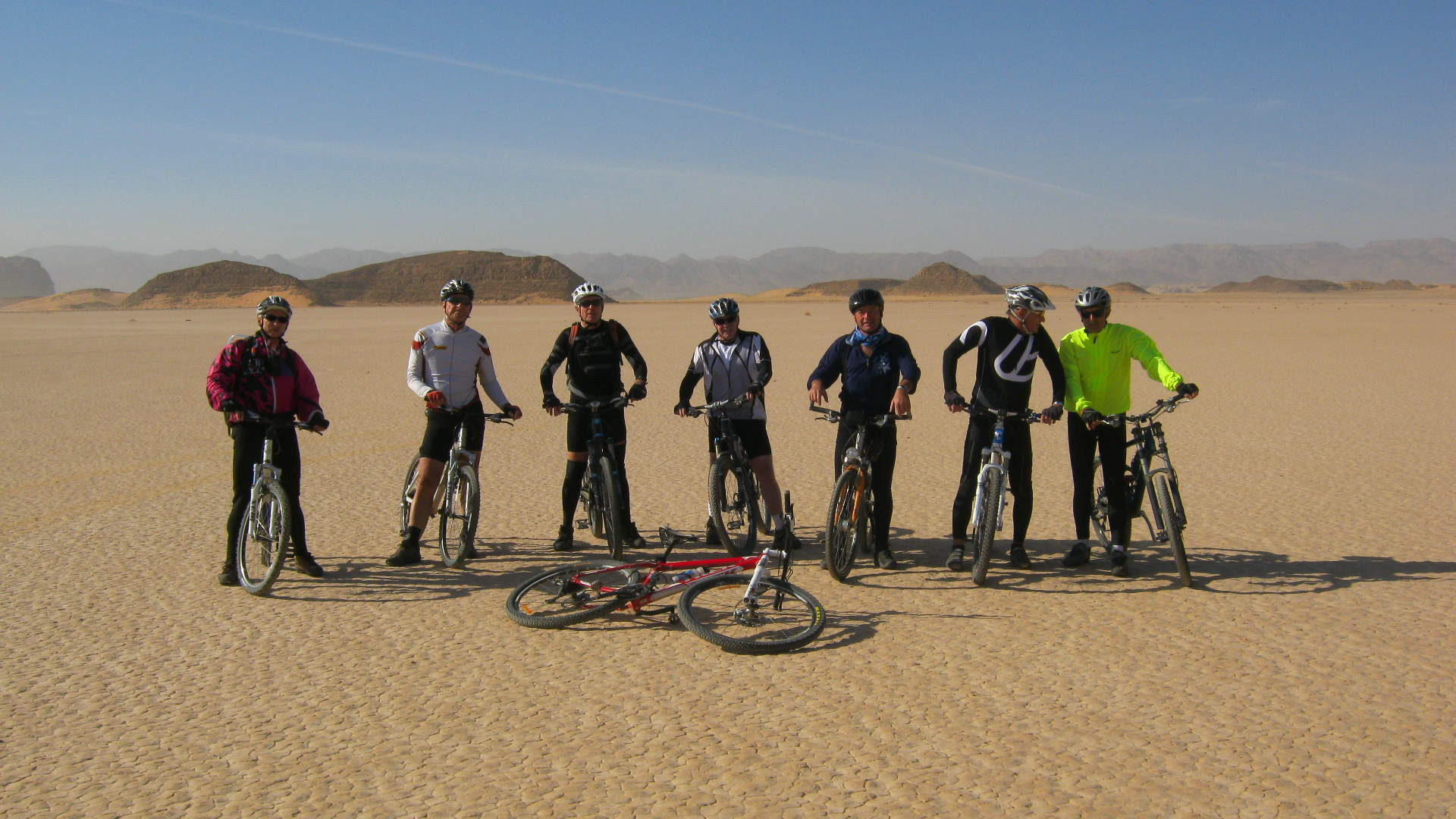 Petra to Wadi Rum by Bike