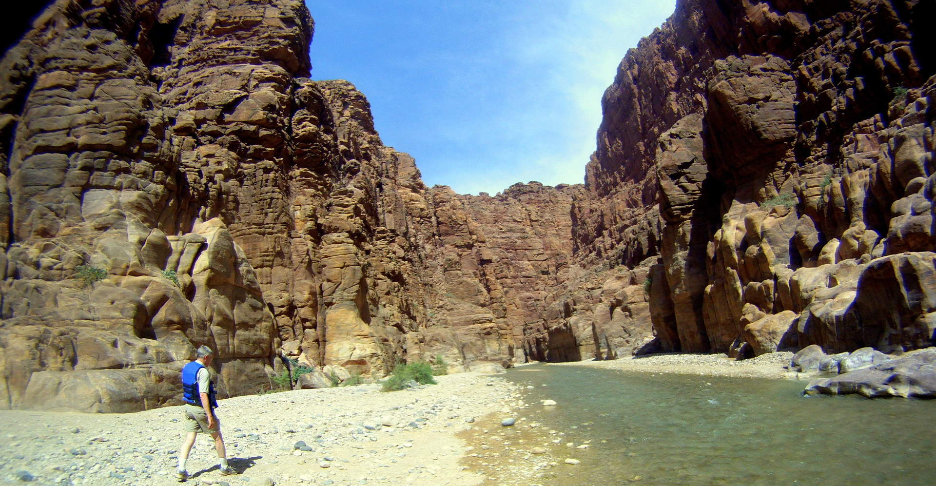 Wadi Mujib Siq Trail