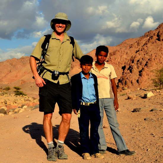 hiking and walking in Jordan